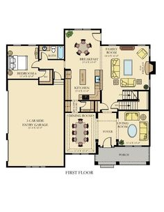 OATLANDS II New Home Plan in Oakley Reserve by Lennar