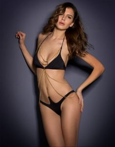 Spring Summer 2014 by Agent Provocateur - Karine Swimsuit❤️ How glam and sassy!