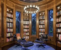 Home Library Design Inspirations