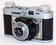 https://flic.kr/p/Wgq97g | Vintage Ciro 35 Fixed Lens, Leaf Shutter Rangefinder Camera With Century Shutter, Circa 1950s | Auction Item 49 - To be auctioned by Cledis Estes Auctions II in Medina, Ohio.