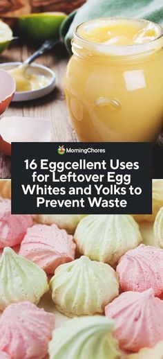 If you have been baking up a storm, many recipes leave you with leftover egg whites. We share creative ideas to use them as well as your leftover egg yolks. Tailgating Recipes, Barbecue Recipes, Grilling Recipes, Cooking Recipes, Barbecue Sauce, Cooking Tools, Egg Yolk Recipes, Homemade Croissants, Healthy Grilling