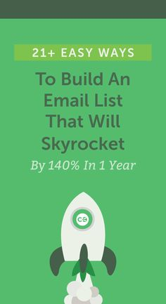 Take your email list to the next level with these helpful tips! http://coschedule.com/blog/how-to-build-an-email-list/?utm_campaign=coschedule&utm_source=pinterest&utm_medium=CoSchedule&utm_content=21%2B%20Easy%20Ways%20To%20Build%20An%20Email%20List%20That%20Will%20Skyrocket%20By%20140%25%20In%201%20Year