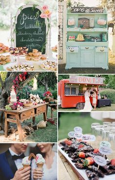 Wedding Food Trend | See more wedding inspiration at www.onefabday.com