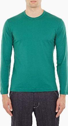 Green Cotton, Whats New, Long Sleeve Shirts, January, Mens Fashion, Tees, Fitness, Mens Tops, T Shirt