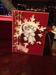 Santa's list stampin up
