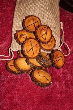 Walnut Rune Set by FairyFresh on Etsy, $25.00