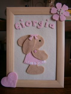. Canvas Frame, Mani, Crafts, Diy Projects, Home Decor, Ideas, Jelly Beans, Felt, Homemade Home Decor