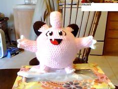 free pattern : Updated Clefairy Pokemon by Danielle Adams