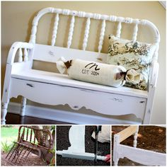 Sunny Days and Repurposed Benches :: Hometalk