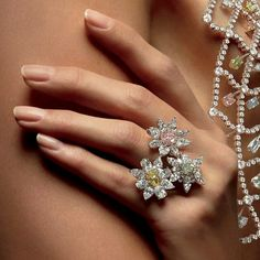 @williamgoldbergdiamonds.   Delight her with an exquisite creation from our sparkling garden. #WilliamGoldberg