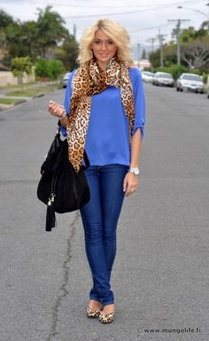 casual and comfy (whoever this girl is, she nails it every time...great style)