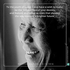 Nelson Mandela day.