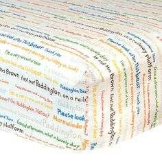 Paddington Bear Crib Sheet by Trend Lab, Multicolor One Size