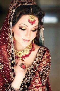Asian desi bridal makeup