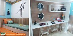 Apartamento decorado 2 dormitórios do Parque Rebouças no bairro City Rebouças - Ribeirão Preto - SP - MRV Engenharia - Quarto Trigêmeos