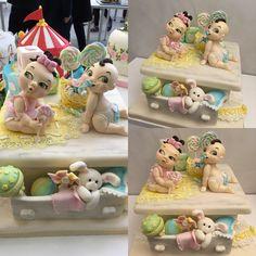 Al cake design italian festival Milano 2015... New born cake