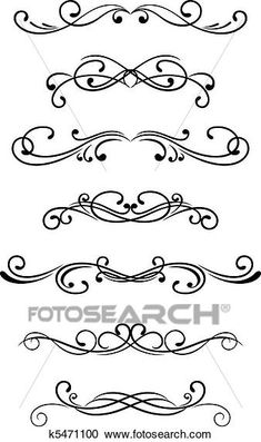 Ornate Victorian Vectored Cut Glass Designs And Bonus