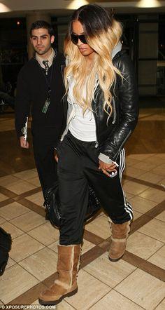 love Ciara's two tone hair
