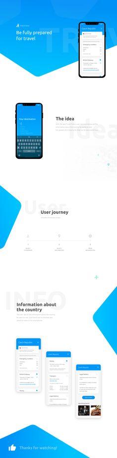 Travel App concept #appdesign #uidesign #uxui #app