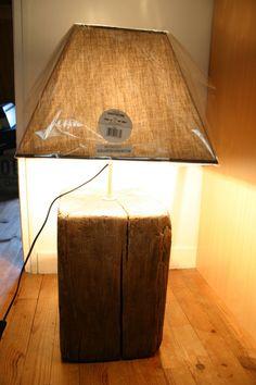Lampe en bois massif : Luminaires par bois-flotte-woodandwood