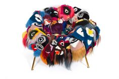 "FENDI creates ""The Armchair Of Thousand Eyes"" in collaboration with Fernando and Humberto Campana 