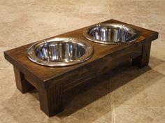 1 Pint 4 Inch Double Ergonomically Designed Elevated By WoodinYou, $30.00 ·  Raised Dog FeederRaised ...