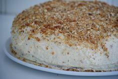 Hobbyvimsa: Krokan kake med oppskrift.