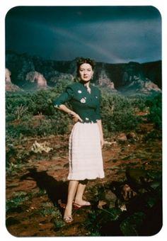 Dorothea Tanning, Sedona, Arizona, by Lee Miller, c.1946