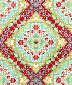 Shop Joel Dewberry Kaleidoscope Poppy Fabric at onlinefabricstore.net for $9.35/ Yard. Best Price & Service.