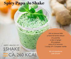 Spicy Papa-Jo Shake