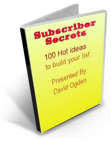 Free subscriber secrets ebook