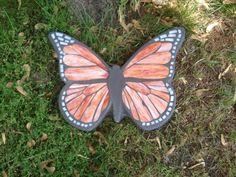 Mosaic Stained Glass Monarch Butterfly Garden by waltzingmonkey, $75.00