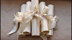 Приглашения на свадьбу СВОИМИ РУКАМИ   DIY wedding invitations