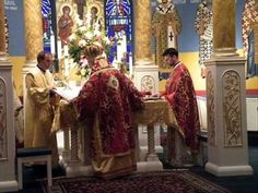 The Divine Liturgy, θεία λειτουργία, of St. John Chrysostom is the second most practiced Liturgy in Christendom (next to the Roman rite Mass).
