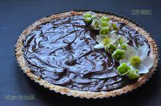 Torta pere e due cioccolati