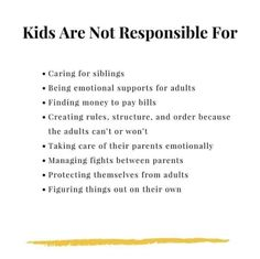 Kids aren't responsible for their parents : narcissisticparents Kids Mental Health, Brain Health, Mood Quotes, True Quotes, Codependency Quotes, Marriage And Family, School Counselor, You Are My Sunshine, Parenting Quotes