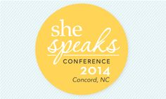 She Speaks Conference