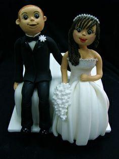 Cute Bride and Groom    All Things Sugar - UK