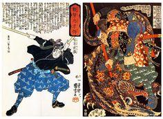 Miyamoto Musashi by destebani, via Flickr