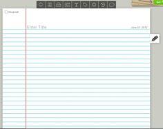 Recursos para el aula: Como crear diarios online con Penzu