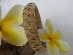 Handwoven Hawaiian Lauhala Bracelet