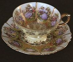 1955 German Teacup ~ I especially love that it's from Germany.