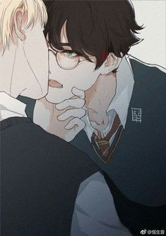 Read Parte Drarry from the story Harry Potter(Yaoi) by benjavallejos with reads. Draco Harry Potter, Harry Potter Anime, Arte Do Harry Potter, Harry Potter Comics, Images Harry Potter, Harry Potter Ships, Harry Potter Memes, Drarry Fanart, Harry Porter