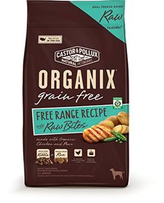 Organix Free Range Recipe with Raw Bites, 4 lb Organix https://www.amazon.com/dp/B0123H9D5K/ref=cm_sw_r_pi_dp_yHmNxbX3YEAHH  7 each week delivered yearly subscription