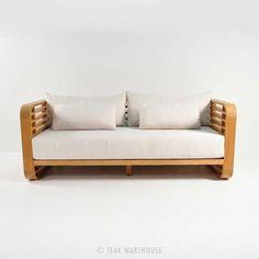 Teak Warehouse | Ocean Teak Outdoor Sofa