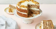 Parsnip and orange spiced cake from Nadiya's Kitchen by Great British Bake Off winner, Nadiya Hussain. This gluten-free layer cake makes for a delicious afternoon treat and will be a hit with anyone who loves carrot cake, too.