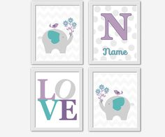 Hey, I found this really awesome Etsy listing at https://www.etsy.com/listing/200347681/lavender-baby-nursery-wall-art-purple
