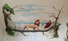 Lion King kinderkamer.