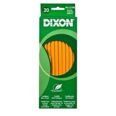 Dixon No. 2 Pencil, Yellow, 20pk kenzie 1 haley 1  shae 1