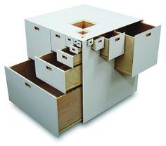 How many drawers do I need? A lot! Fractal 23 by Takeshi Miyakawa.